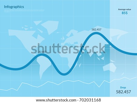 Infographic data chat world map vector stock vector 702031168 infographic data chat world map vector illustration gumiabroncs Gallery