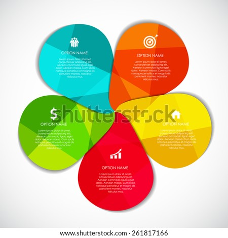 Infographic Design Elements for Your Business Vector Illustration. EPS10 - stock vector