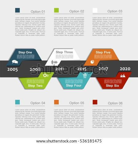 Infographic Design Template Place Your Data Stock-Vektorgrafik ...