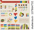 Infographic elements 1 - stock vector