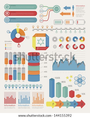 Infographic Elements , eps10 vector format - stock vector