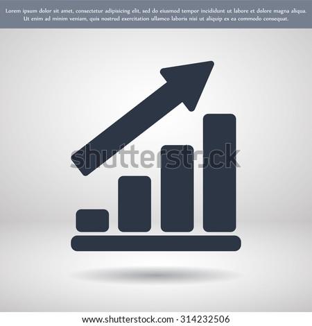Infographic icon. vector 10 EPS - stock vector