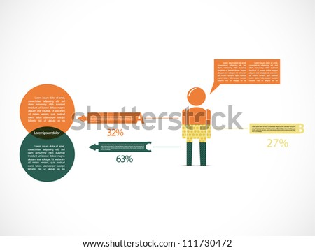 Infographic illustration - stock vector