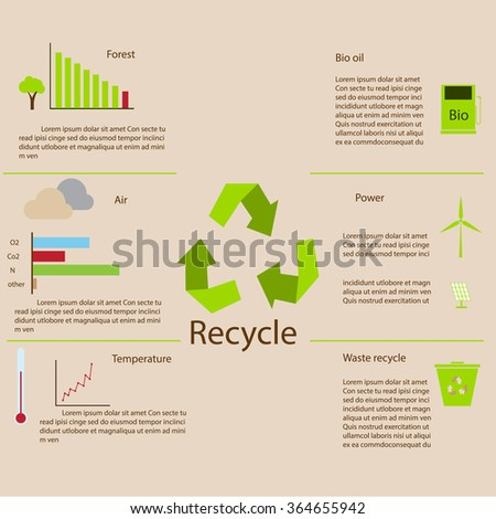 infographic recycle