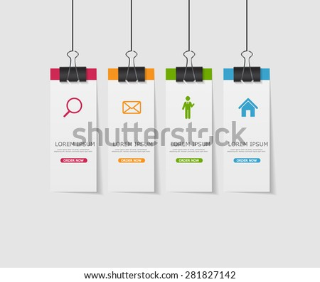 Infographic Template for Business Vector Illustration Eps10 - stock vector