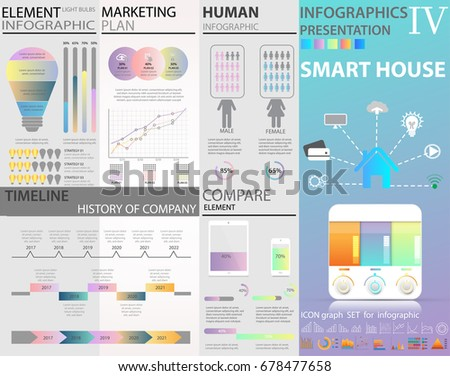 infographic tools human people infographics bar stock vector