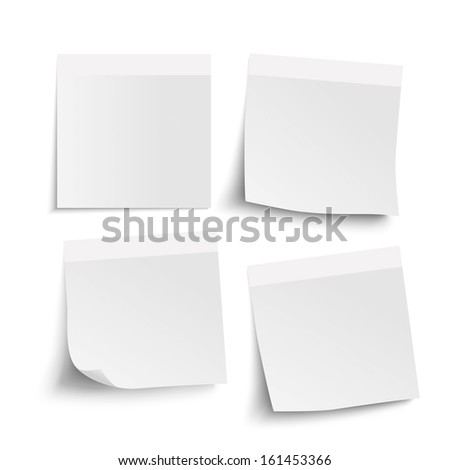 Infographic with grey stickers on the grey background. Eps 10 vector file. - stock vector