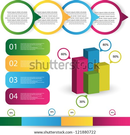 infographics - stock vector