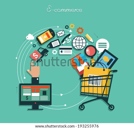 E-commerce Stock Images, Royalty-Free Images & Vectors | Shutterstock