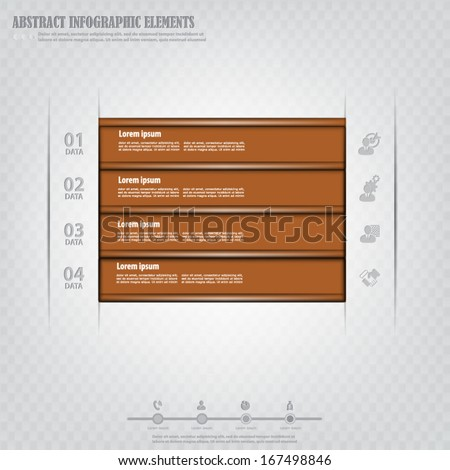 Infographics design element