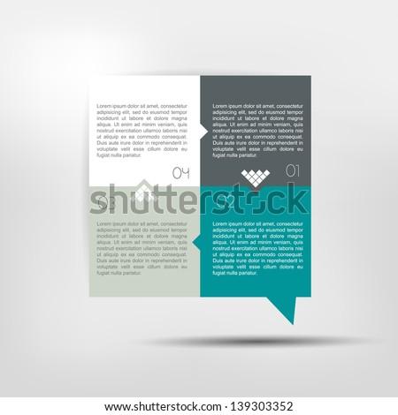 Infographics Elements. - stock vector