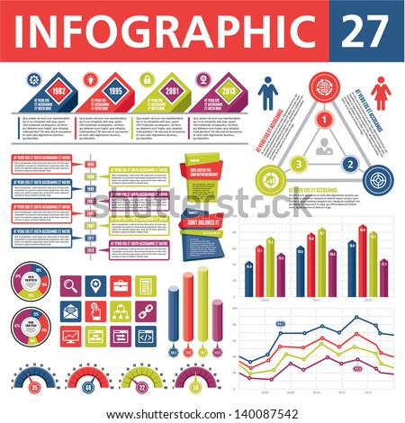 Infographics Elements 27 - stock vector