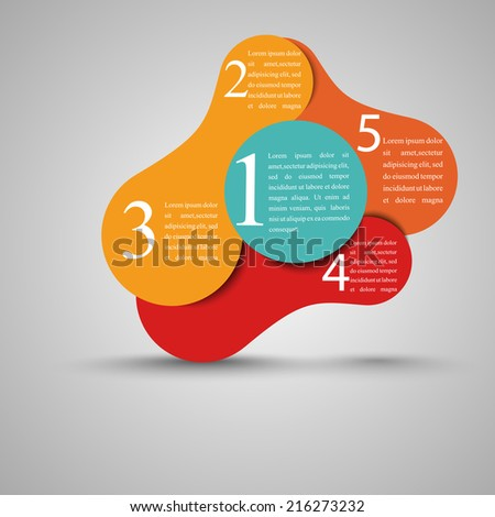 Infographics Modern Design Layout | EPS10 Vector - stock vector