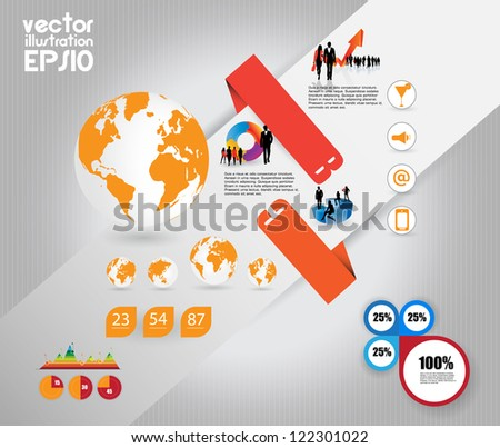 Information Graphics - stock vector