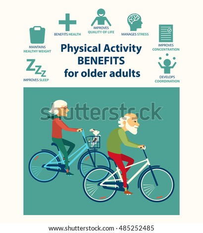 informational poster template senior physical activity