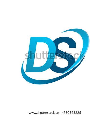 Initial Letter Ds Logotype Company Name Stock Vector 730543225
