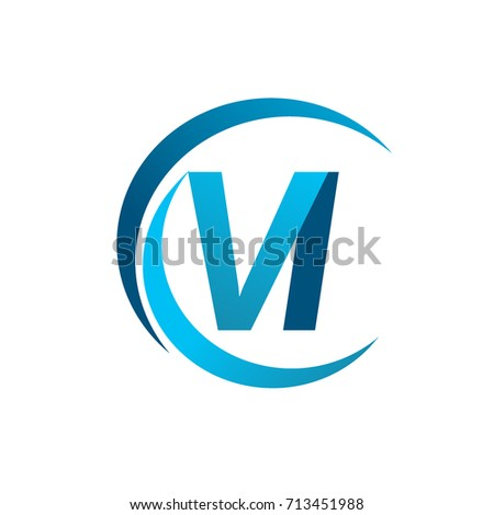 Initial Letter Vi Logotype Company Name Stock Vector 713451988