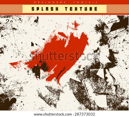ink splash background-vector texture