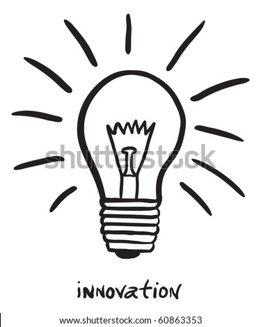 innovation - stock vector