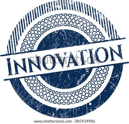Innovation grunge seal - stock vector