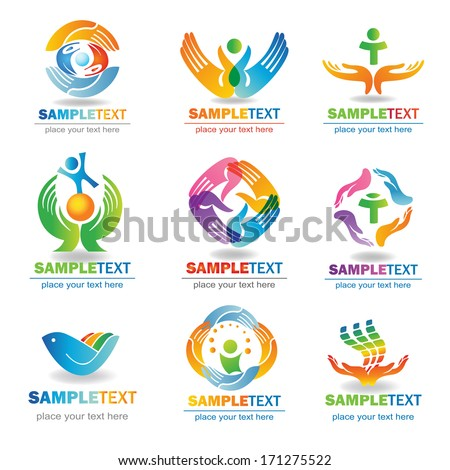 Insurance  Design Elements, Isolated On White Background, Vector Illustration  - stock vector