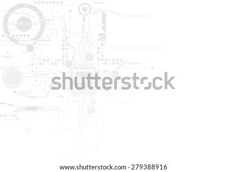 Integration and innovation technology. for Business presentation model vector - stock vector