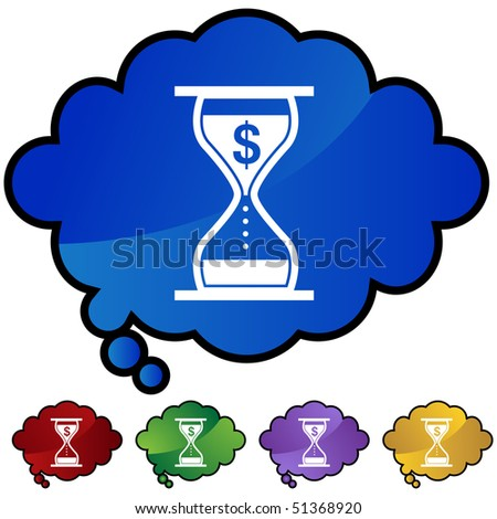 Interest Rate Charges - stock vector