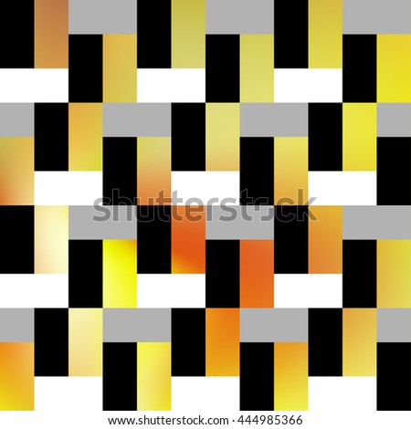 Interior decorative tiles. Wallpaper texture background. Seamless pattern. Stock vector.