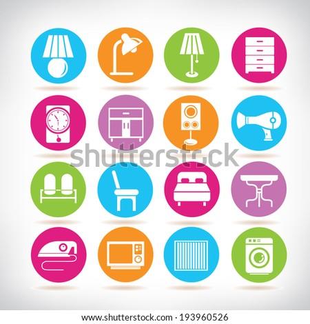 Interior Design Icons Furniture Set