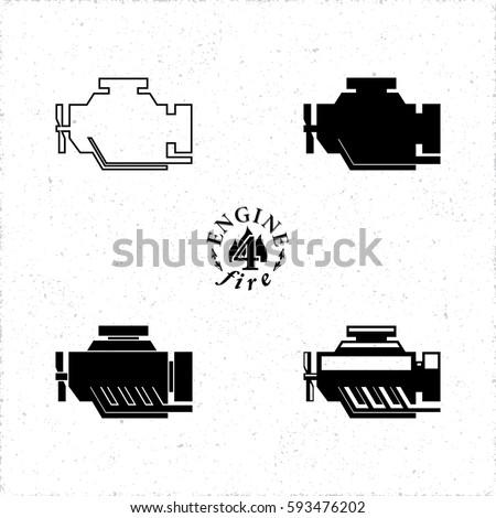 Car Piston Engine Cutaway