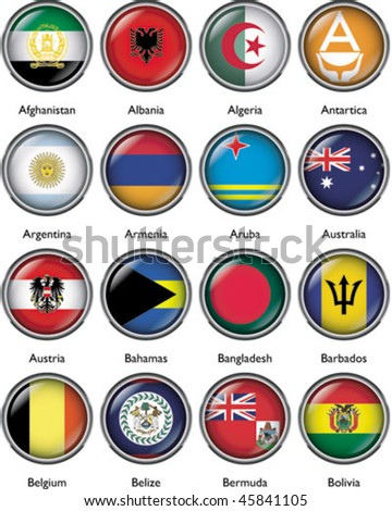 International Flags (vector) 1
