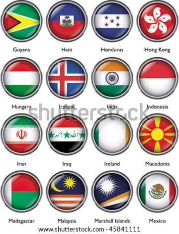 International Flags (vector) 4