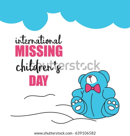 Sorrow Vectors Images Vector Art – Missing Child Poster Template