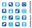 Internet and web site icons - vector icon set - stock photo
