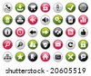 Internet Four Colors Icon Set. Easy To Edit Vector. - stock vector