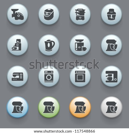 Internet icons for web site, set 15