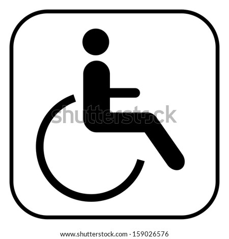 Invalid people icon  - stock vector