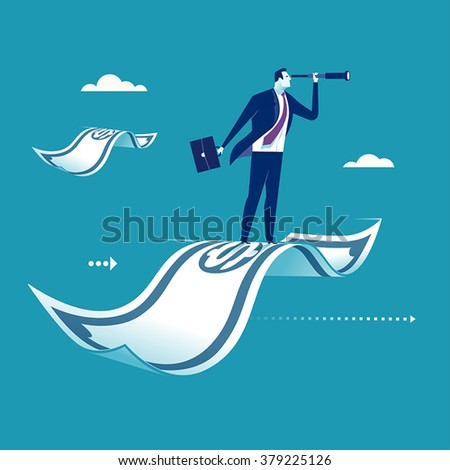 Investment. Concept business illustration - stock vector