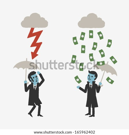 Investments - stock vector