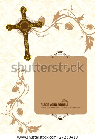 Invitation - stock vector