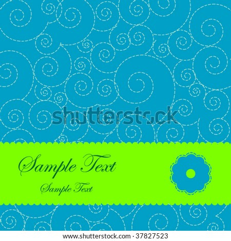 invitation background - stock vector