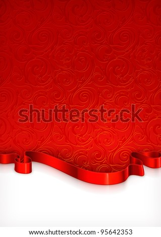 Invitation Card, vector - stock vector