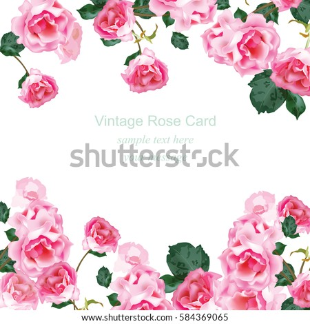 Invitation card watercolor vintage roses bouquet stock vector hd invitation card watercolor vintage roses bouquet stock vector hd royalty free 584369065 shutterstock stopboris Images
