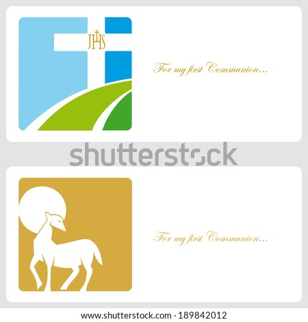 Invitation cards religious event stock vector 189842012 shutterstock invitation cards for religious event stopboris Image collections