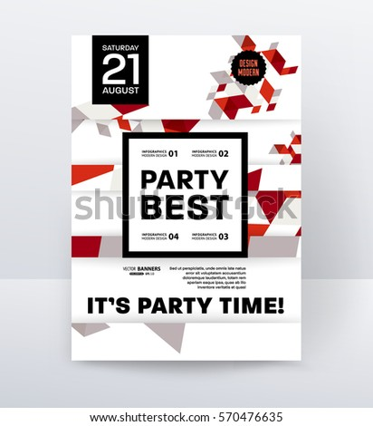 Block party poster template