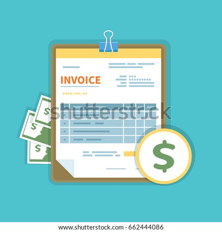 Certified Receipt Pdf Invoice Stock Images Royaltyfree Images  Vectors  Shutterstock Buy Receipts Pdf with Car Payment Receipt Word Invoice Icon With Money On A Tablet Isolated Unfilled Minimalistic Form  Of The Document Petty Cash Receipt Template Free