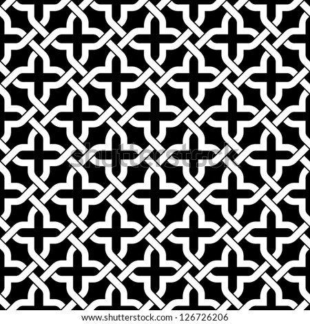Islamic seamless pattern. Abstract background. - stock vector