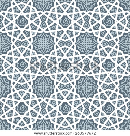 Islamic traditional pattern - stock vector