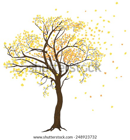 bare fall tree clip art - photo #26