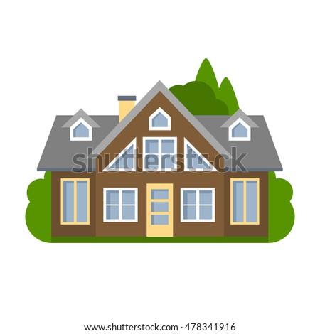 Houses Icon Stock Vector 500228827 - Shutterstock